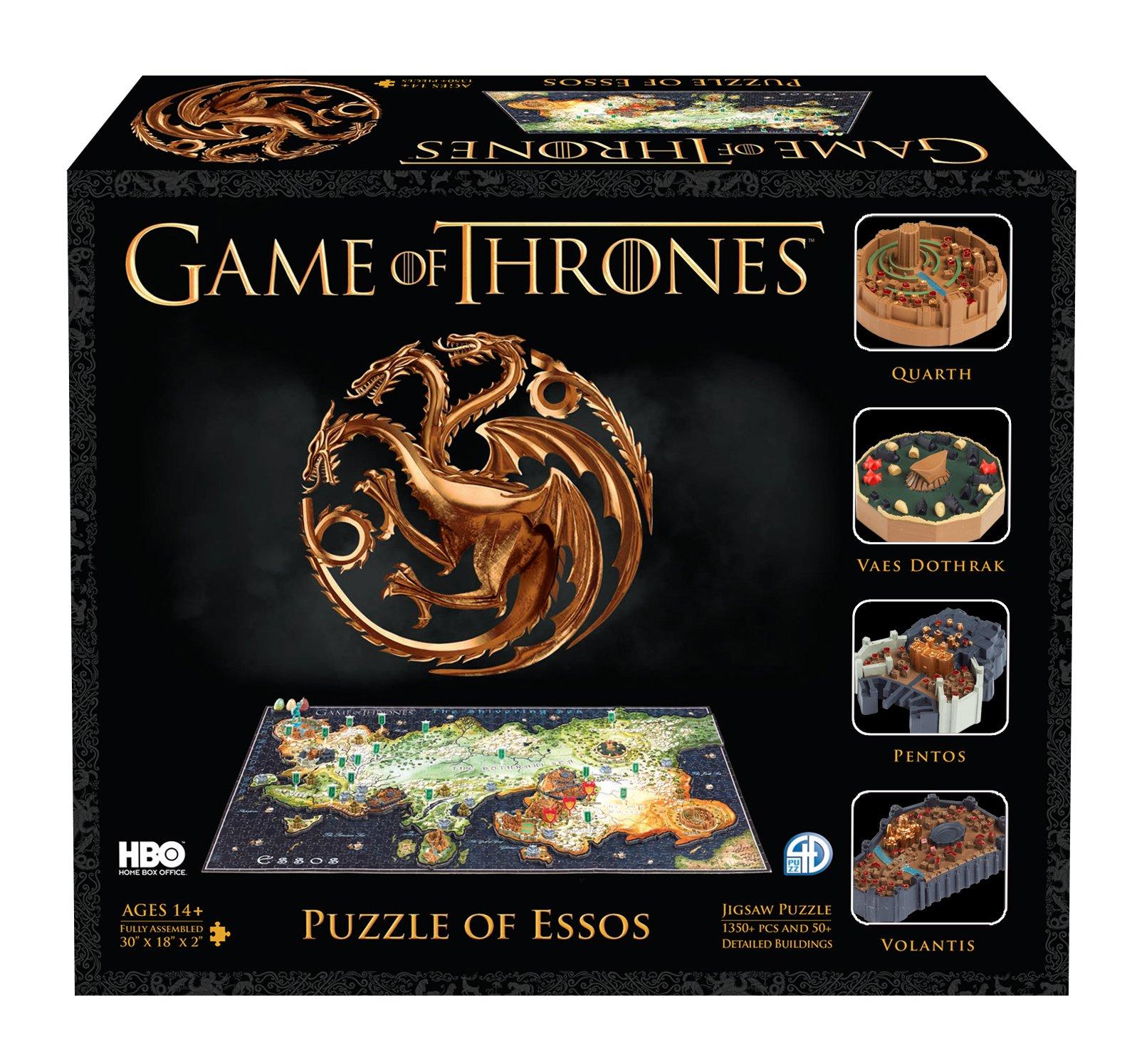 4D Cityscape 4D Game of Thrones : Essos Time Puzzle (1400 Piece)