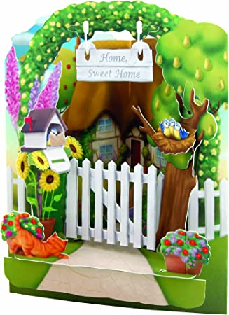 Perfect for Birthdays Luxury 3D Swing Cards Celebrations /& Special Occasions