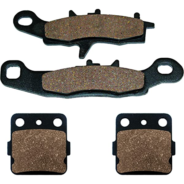 Volar Front /& Rear Brake Pads for 1997-2018 Kawasaki KX100