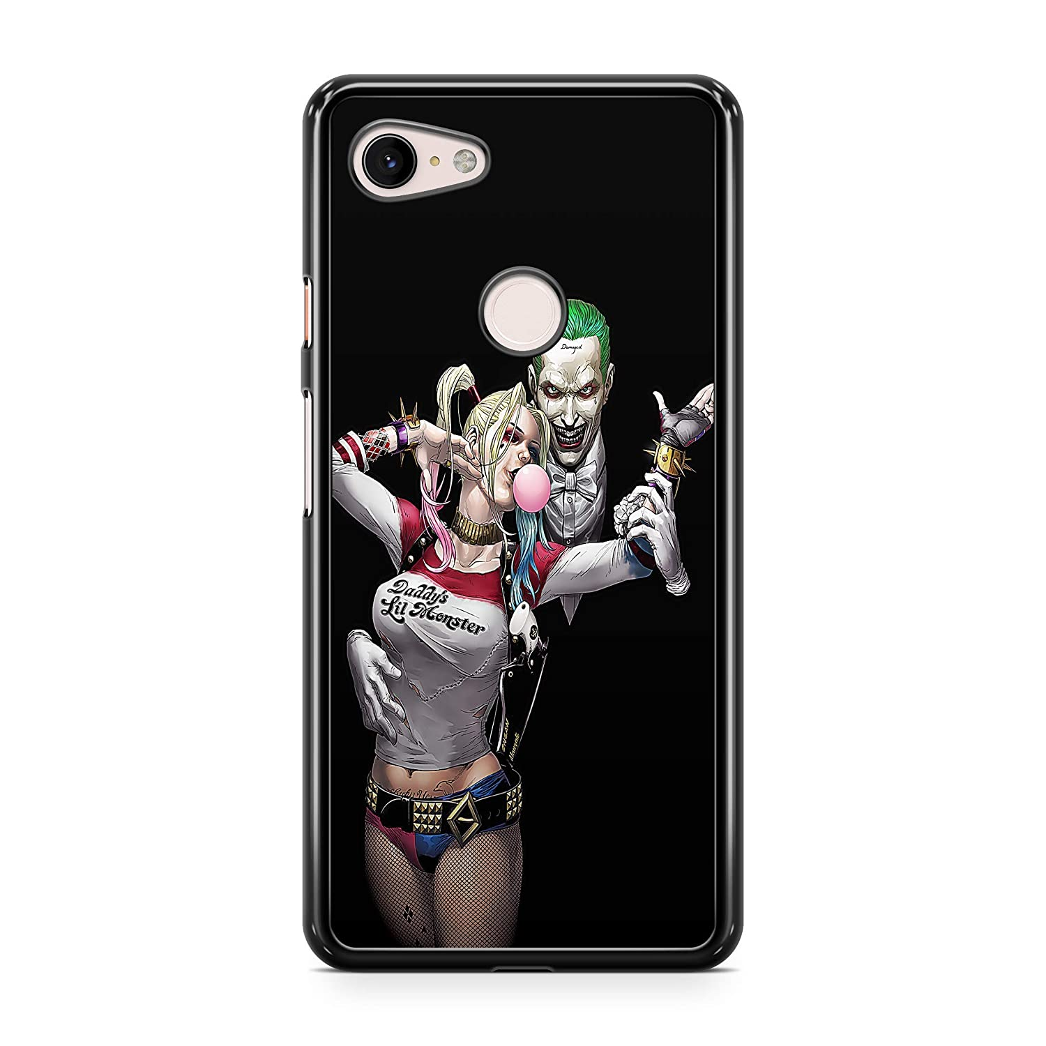 Inspired by Joker Harley Quinn Case for iPhone Xs Max XR Xs 8 Plus Case Comics Superhero Phone Cover M70
