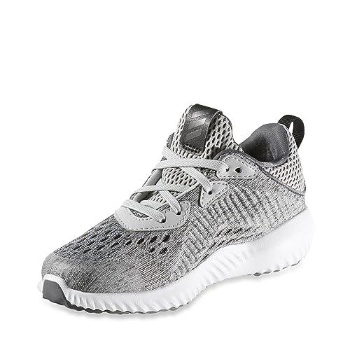 956835607e507 adidas Unisex Kids  Alphabounce Em C Fitness Shoes Grey White ...