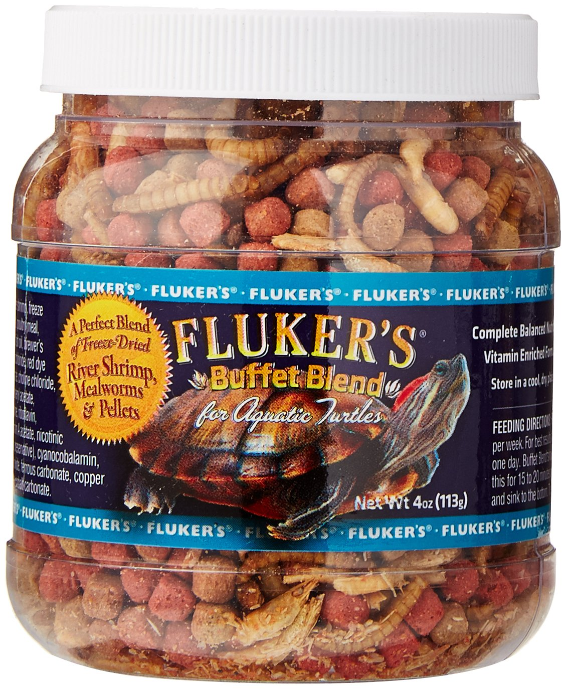 Fluker Labs SFK70120 Aquatic Turtle Buffet Blend TopDawg Pet Supply 919009