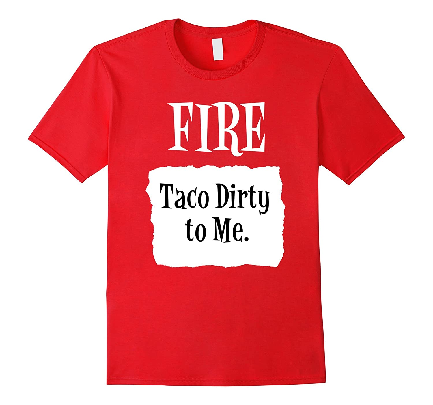 Taco Dirty to Me Fire Hot Sauce Group Halloween Costume-FL
