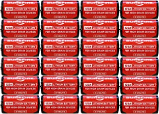 product image for Surefire SF123A Box of 24 123A 3 Volt Lithium Batteries 24-Pack