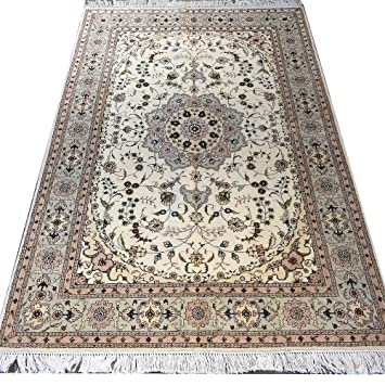 Amazon Com Yilong 4 X6 Vintage Persian Carpet Hand Knotted Wool