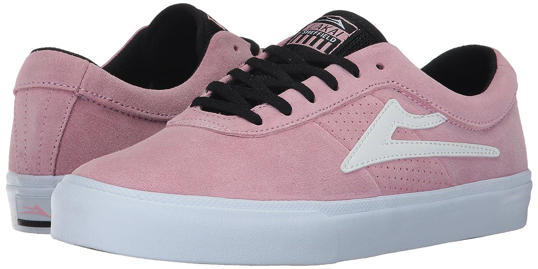Lakai Sheffield Skate Shoe B01N10CACY 6.5 M US|Pink Suede