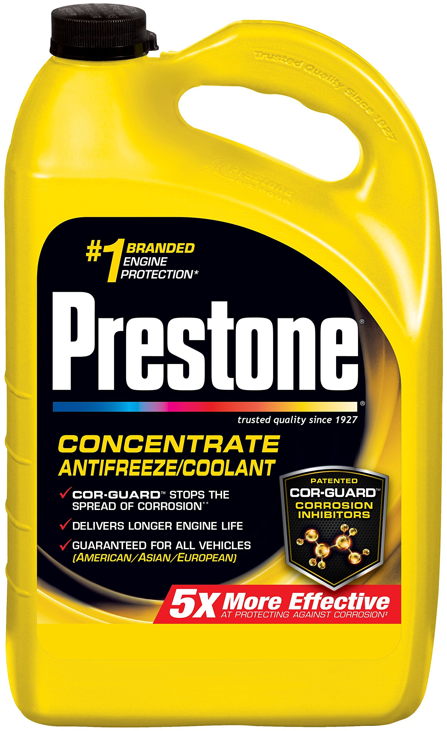 Prestone AF2000-6PK Extended Life Antifreeze - 1 Gallon, (Pack of 6) by Prestone