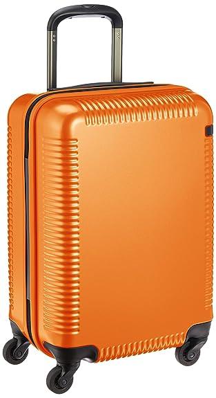 5c1d5649ff Amazon | [エース] 日本製スーツケース ウィスクZ 32L 2.9kg 機内持込可 サイレントキャスター 04021 48 cm オレンジ  | スーツケース