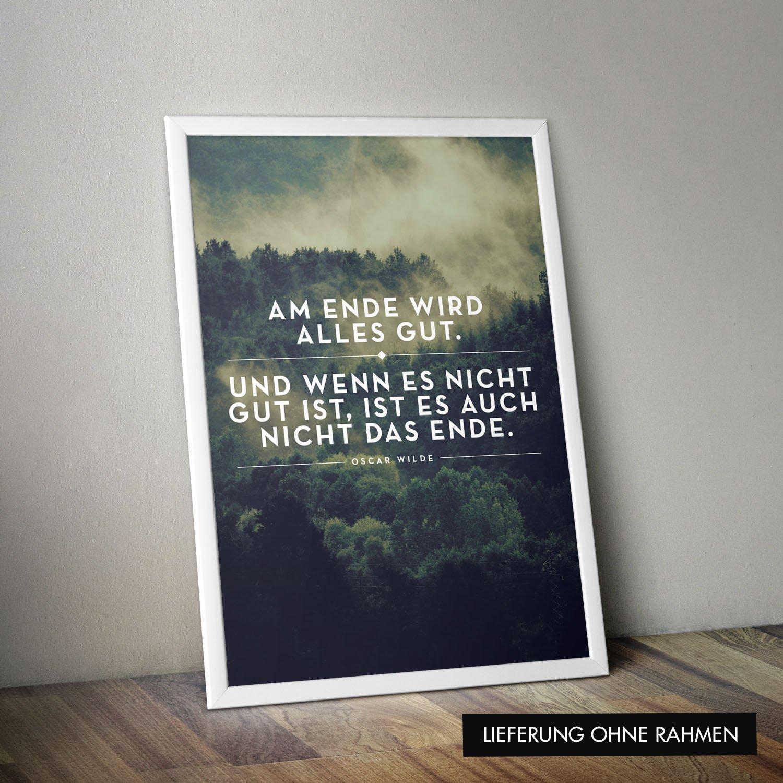Amazon.de: VISUAL STATEMENTS® Poster mit Spruch/Verschiedene Motive ...