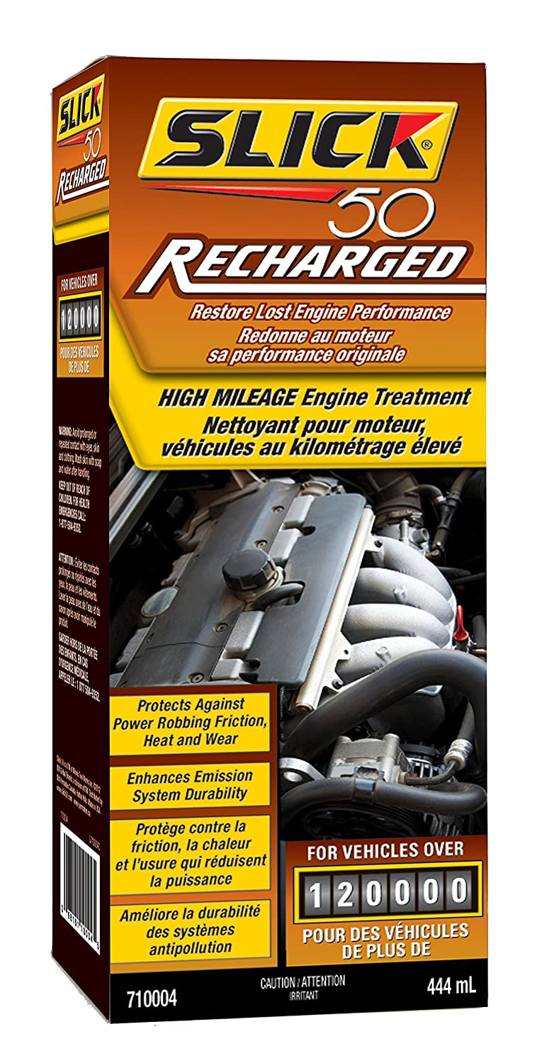 Slick 50 710004 Recharged High Mileage Engine Treatment ITW Permatex Canada - Auto