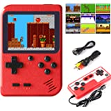 JAMSWALL Handheld Game Console, Retro Mini Game Player with 400 Classical FC Games 2.8-Inch Color Screen Support for…