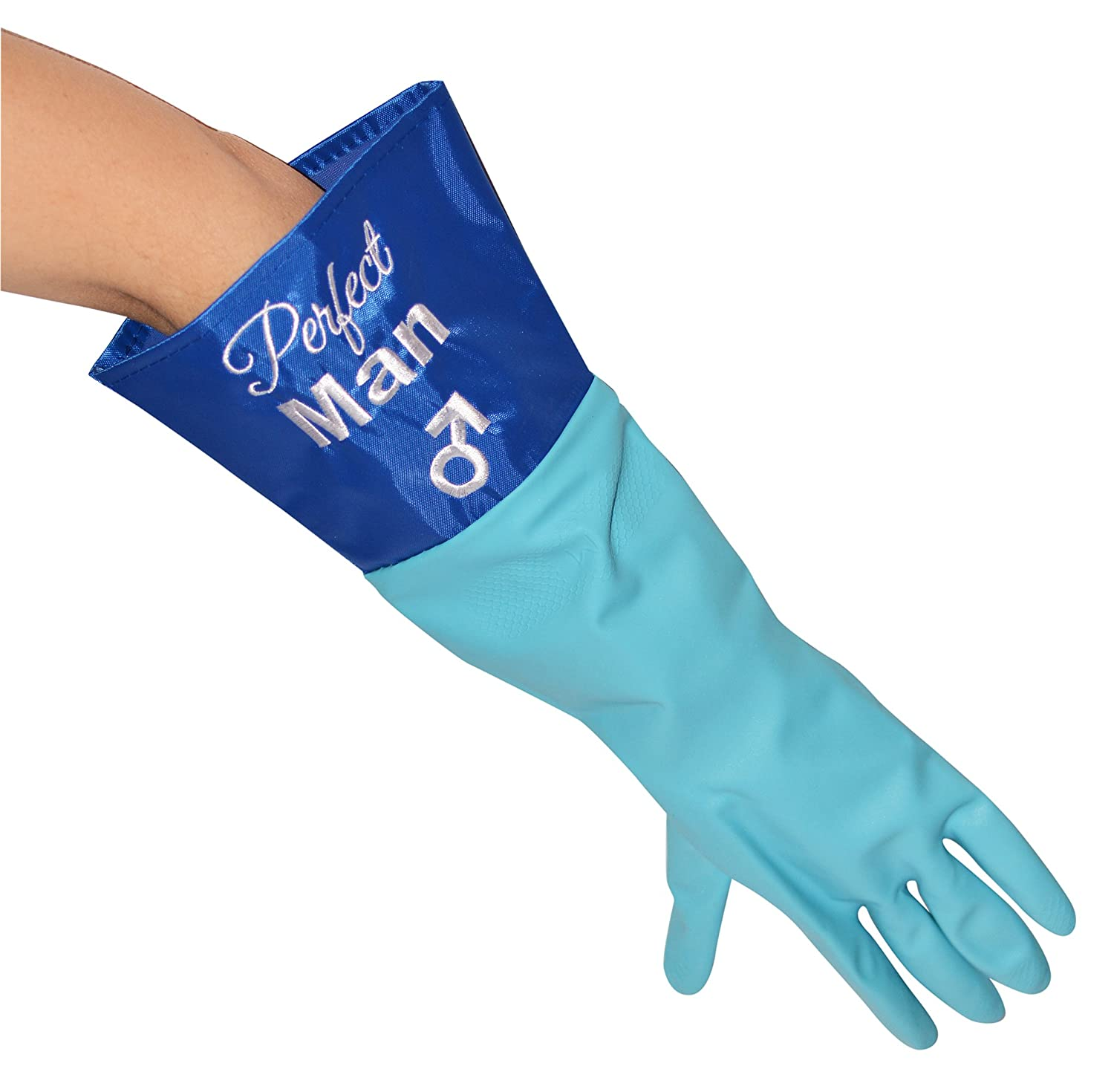 Mens novelty gloves - Perfect Man Washing Up Gloves Birthday Novelty Xmas Secret Santa Gift