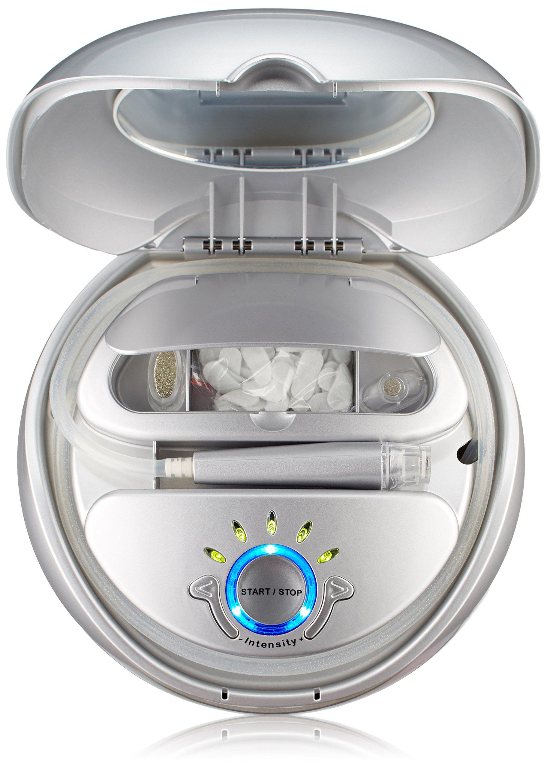 NuBrilliance Microdermabrasion Skin Care System, White