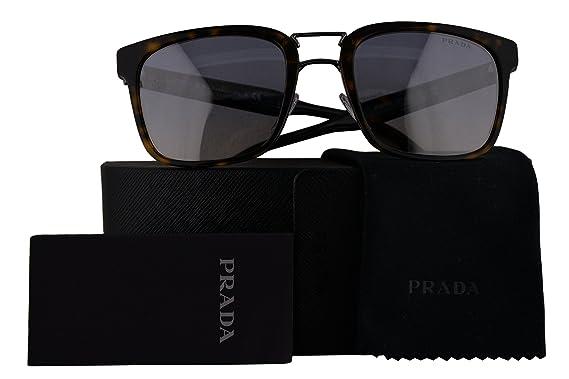 98f9c787a489 ... ebay prada authentic sunglasses pr14ts havana w light blue mirror  gradient silver lens 2au5r0 spr14t 18edf