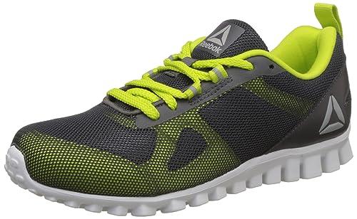 299f6ad2fe0 Reebok Boy s Super Lite Jr Xtreme Ash Grey Semi Solar Yllw Sports Shoes -  1.5