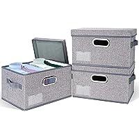 3 Pack BALEINE Storage Bins with Lids Deals