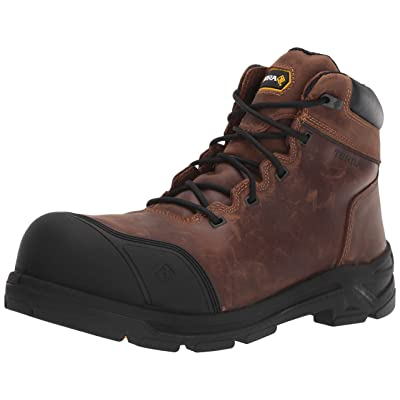 """Terra Men's Vrtx 6000 6"""" Composite Safety Toe Eh Puncture Resistant Industrial Boot: Shoes"""