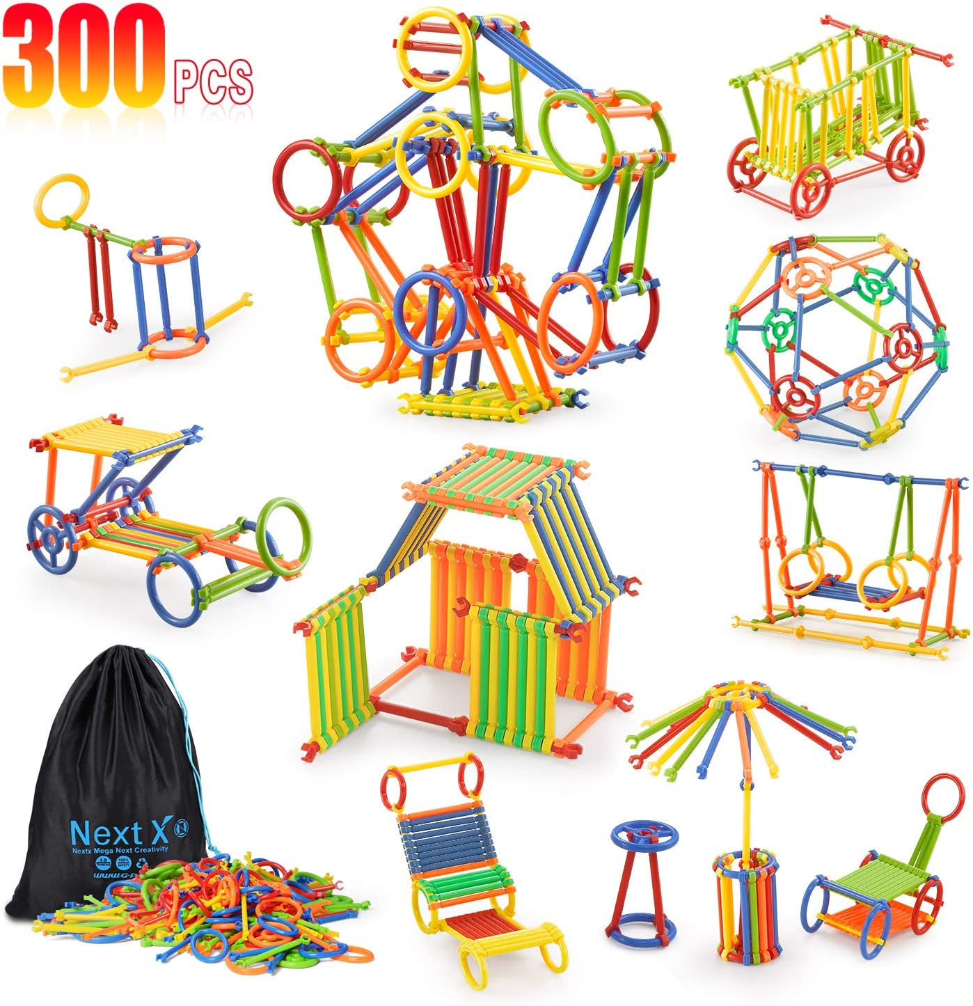 300 Pieces Educational Building Toys