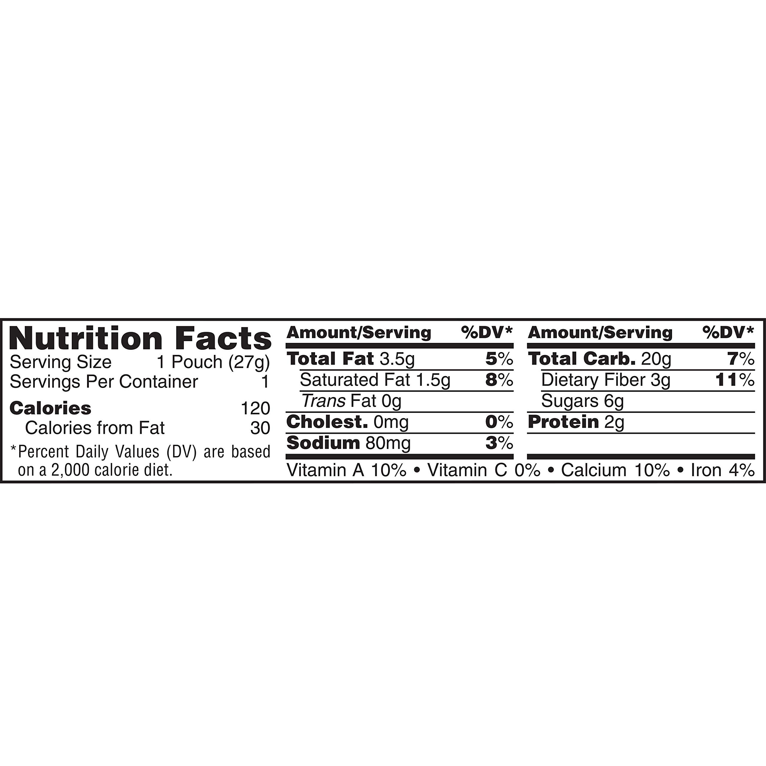 Keebler Grahams Crackers, Gripz, Chocolate Chip,  Bulk Size, 142.5 oz (Pack of 150, .95 oz Pouches) by Keebler (Image #2)