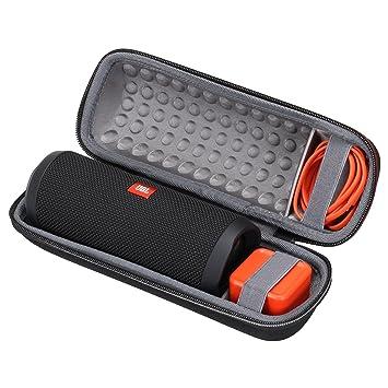 online store 63896 5c1d3 XANAD Case for JBL Flip 4 or JBL Flip 3 Speaker Hard Storage Carrying  Protective Bag Grey