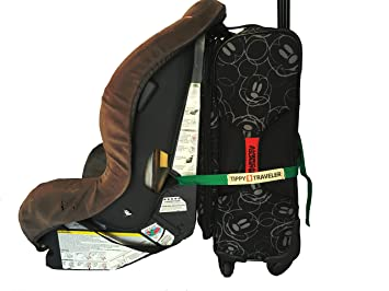 Car Seat Travel Strap By Tippy Traveler