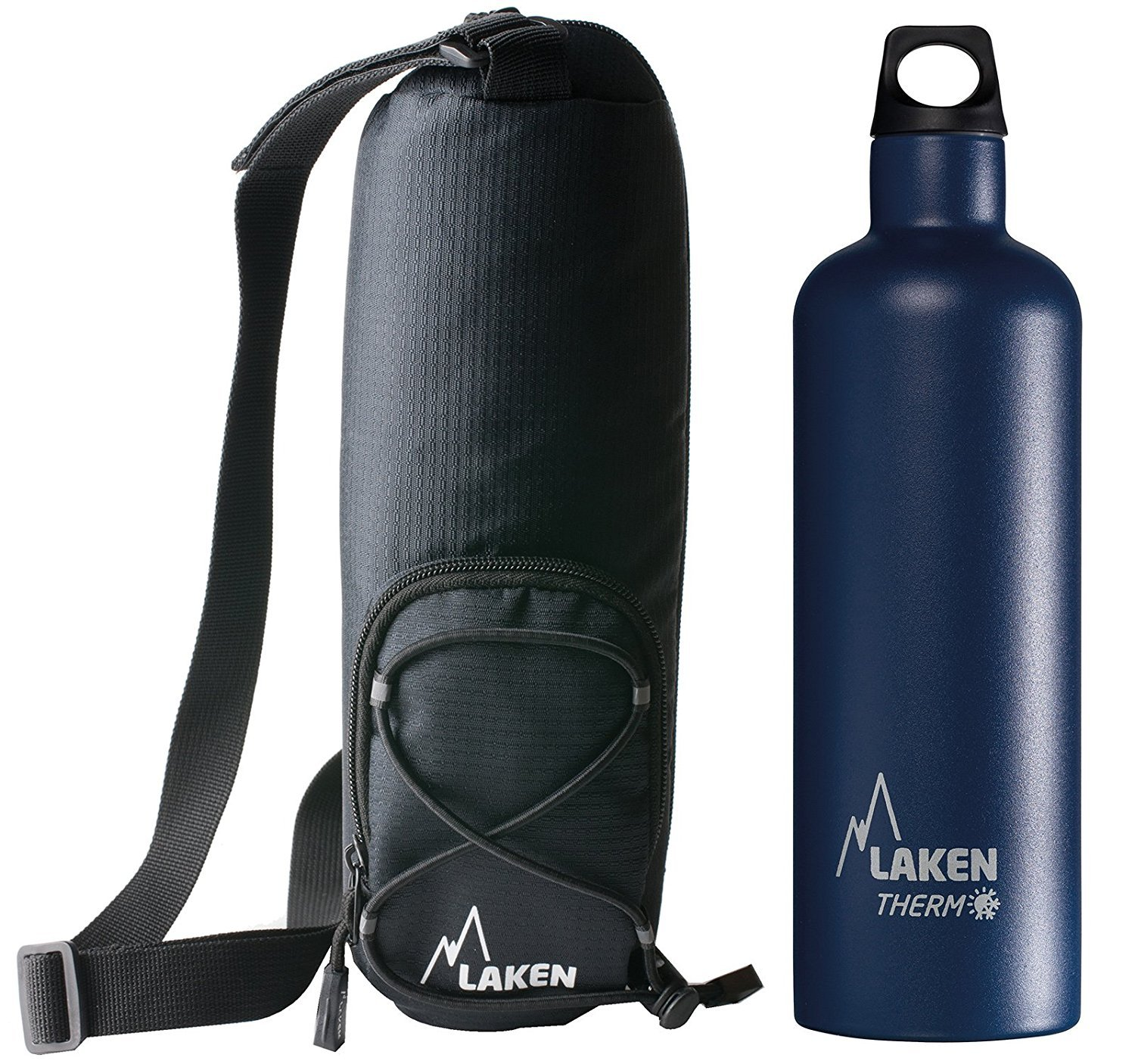 Laken Thermo Futura Vacuum Insulated Stainless Steel Water Bottle Narrow Mouth Laken Bottle Corportaion