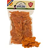 Green Butterfly Brands Chicken Jerky - Dog Treats Made in USA Only - One Ingredient: USDA Grade A Chicken Breast - No Additives or Preservatives - Grain Free, All Natural Premium Strips 8 oz.