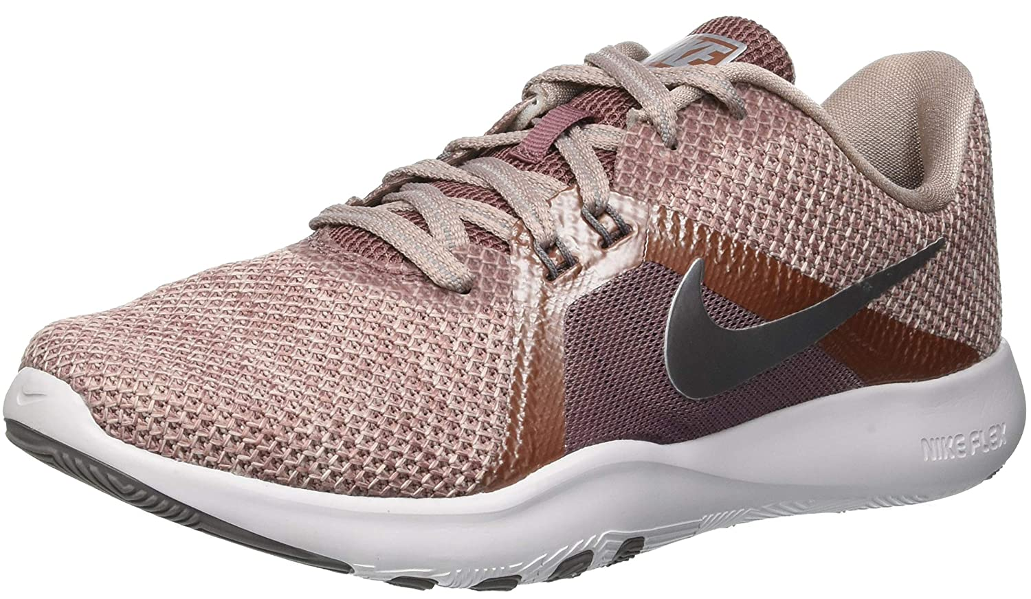 a5ee1bd11974 Nike Women s Flex Trainer 8 PRM Running Shoes  Amazon.co.uk  Shoes   Bags