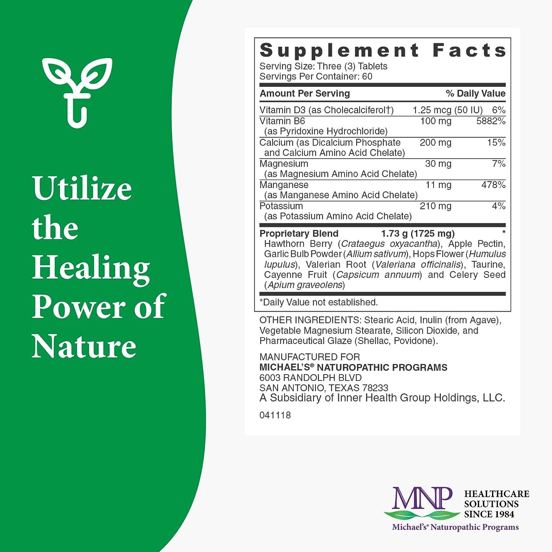Amazon.com: Michael\'s Naturopathic Programs, Blood Pressure Factors ...
