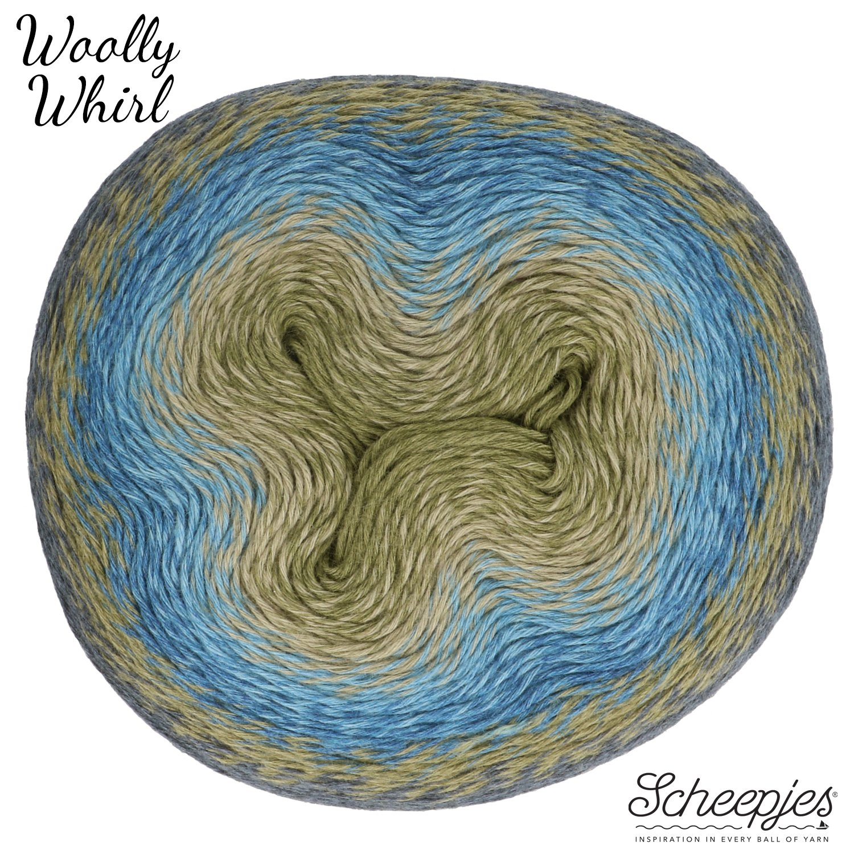 Scheepjes Yarn Woolly Whirl (473 - Kiwi Drizzle)