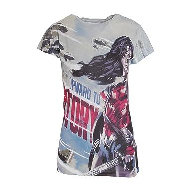 f595a422bc021 Pose Victoria Woman Mujer Ww Wonder De Para En Camiseta Modelo SOXaq