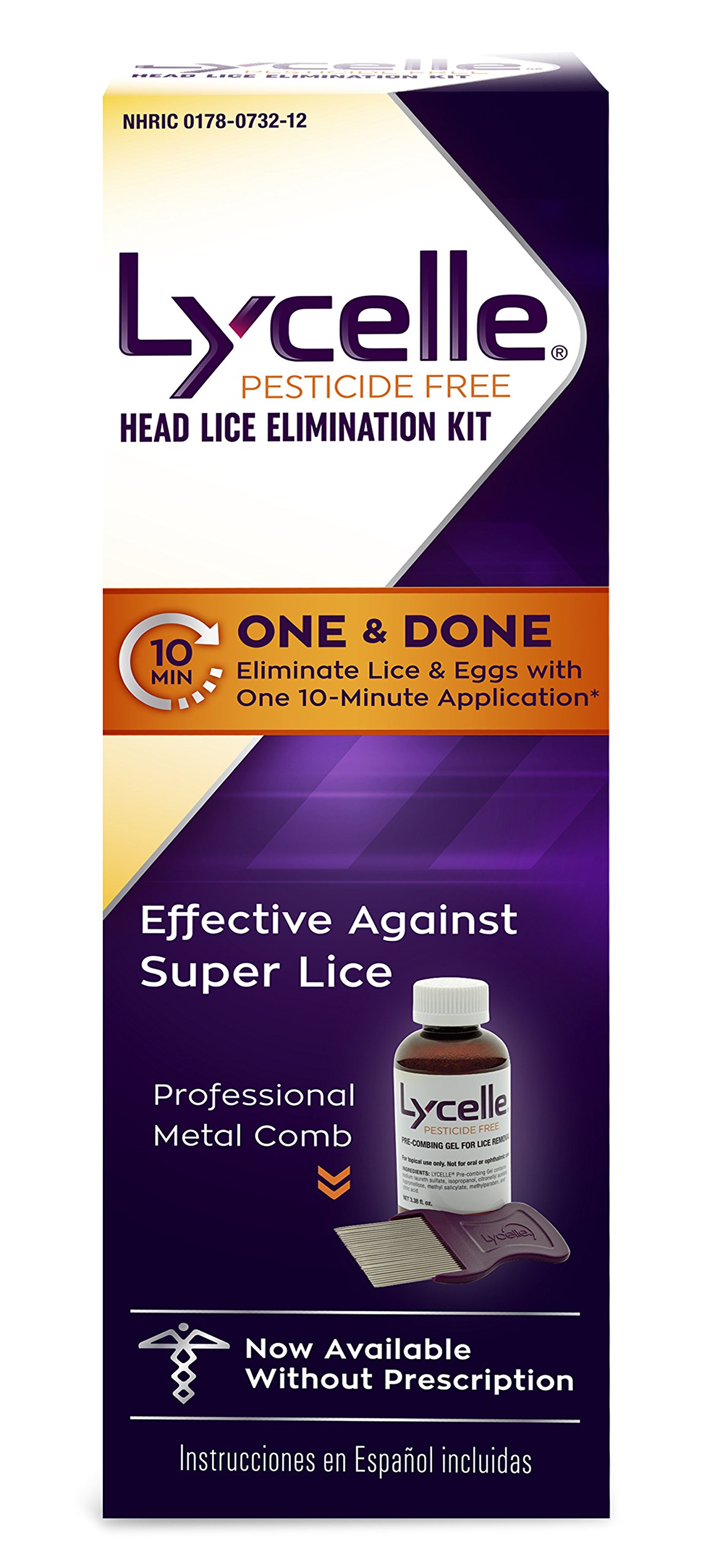 Lycelle Head Lice Removal Kit, 3.38 Ounce