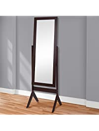 tall standing mirrors. Best Choice Products Standing Cheval Floor Mirror Bedroom Home Furniture Tall Mirrors