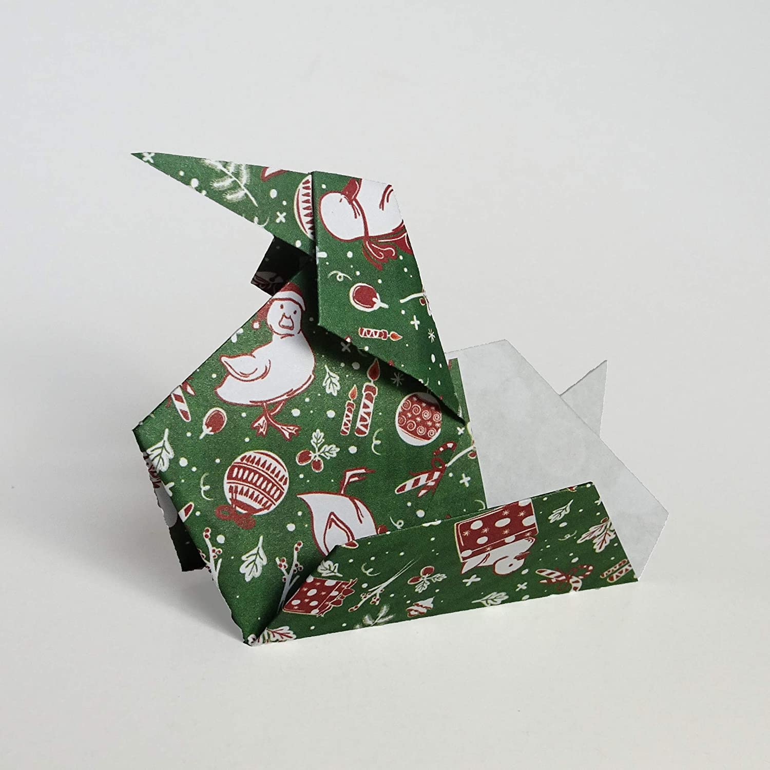 200 Sheets Large Christmas Collection Origami Paper Christmas Gift Set 15cm Square