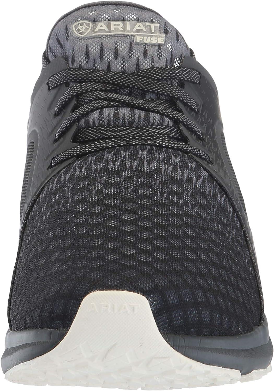 Ariat Men's Fuse Western Shoe Ombre Black/Grey