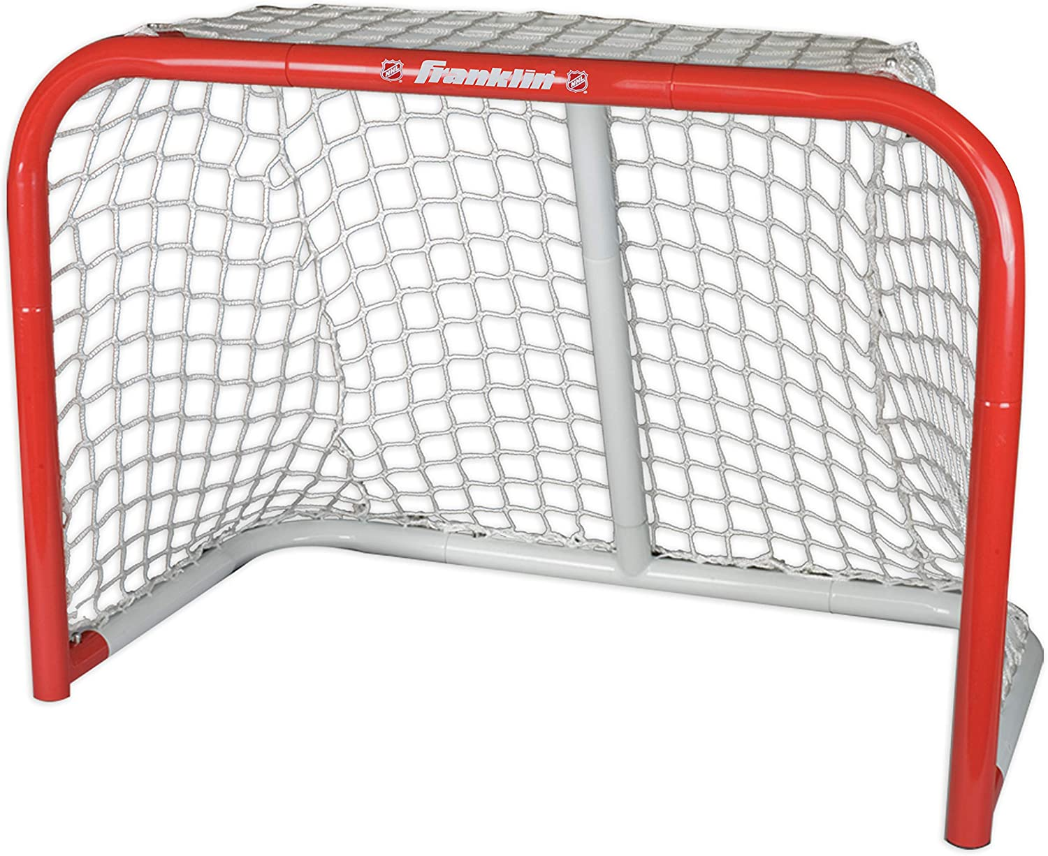 "Franklin Sports NHL Steel Street Hockey Goal - Kids Street Hockey Net - 28"" x 20"" - Perfect for Skill Training : Hockey Nets : Sports & Outdoors"
