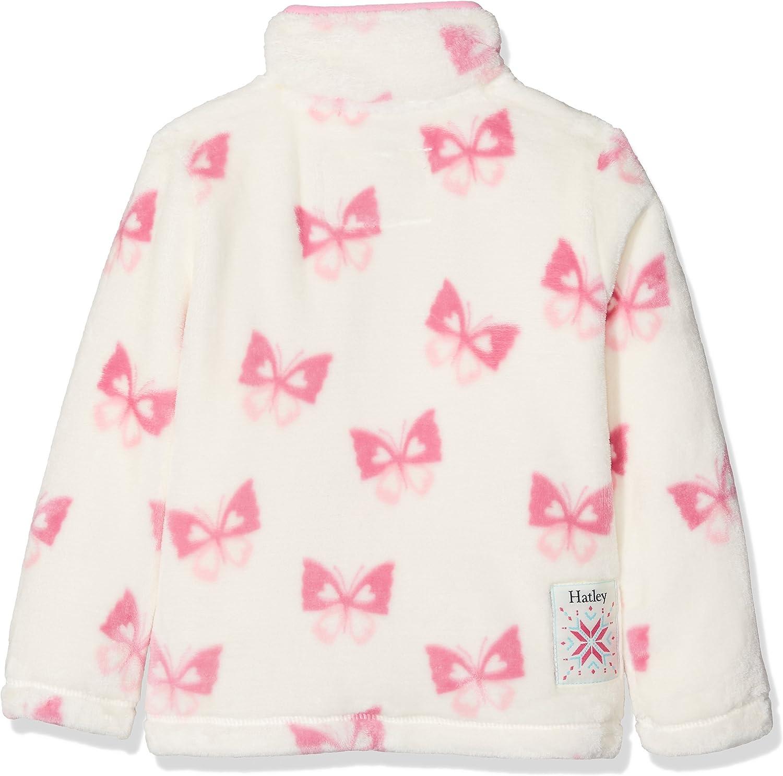 Hatley Fuzzy Fleece Jackets Chaqueta para Ni/ñas