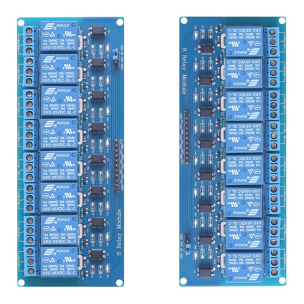 Beboncool Tm A Piece Of Relay Board Module Expansion With The 8way Hi Resolution Images