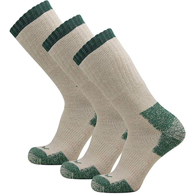 015e2f906469d Wicked Warm Boot Socks – Premium Merino Wool Hiking Socks for Men and Women  – Thick
