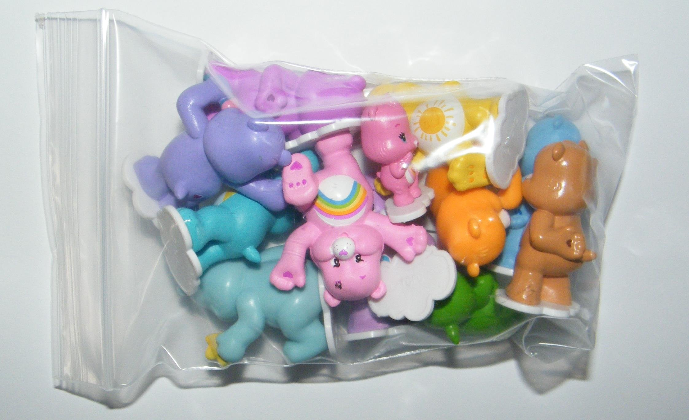 Care Bears Cupcake Topper Birthday Party Decorations Set of 12 Figures with Share Bear, Wonderheart Bear, Grumpy Bear, Wish Bear and Many More! by Care Bears (Image #7)