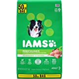 IAMS PROACTIVE HEALTH Adult Minichunks Small Dry Dog Food Chicken Dog Kibble, 50 lb. Bag