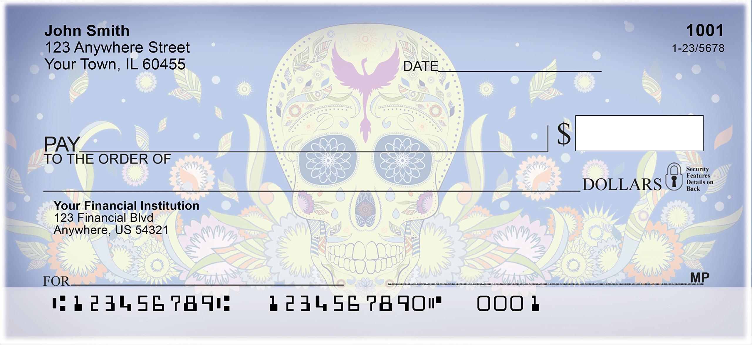 Day of The Dead Personal Checks (1 Box, Singles)