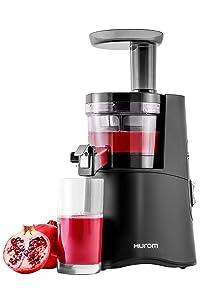 Hurom H-AA Slow Juicer, Matte Black