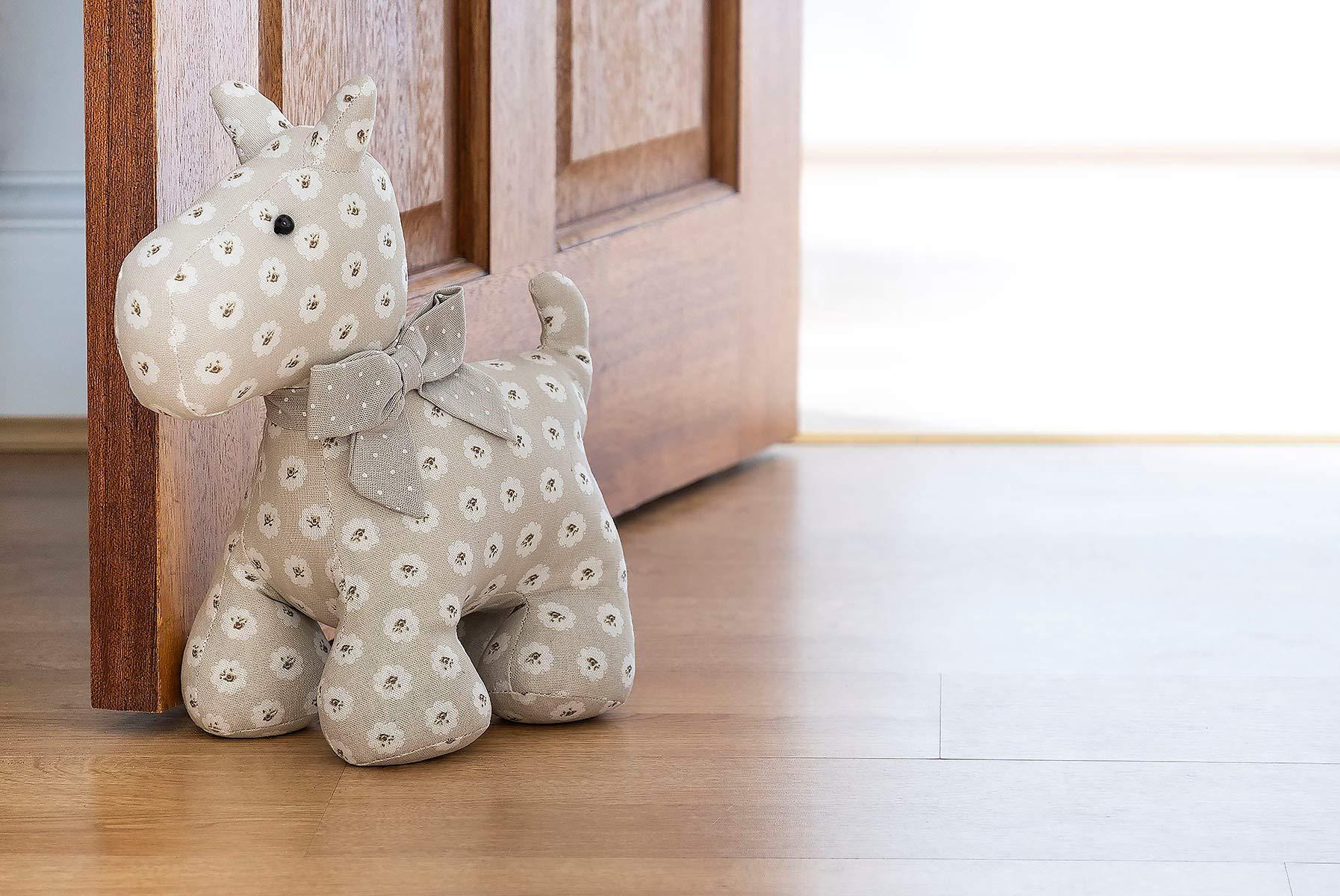 Dog Door Stop Heavy Decorative Fabric Door Stopper Gift For Animal Lover Buy Online In Belize At Belize Desertcart Com Productid 87601547
