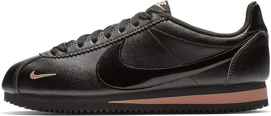 experiencia Arreglo zoo  Nike Classic Cortez Premium 905614-010 - Zapatillas para mujer, color  negro, rosa y dorado, Negro/Oro rosa, 9.5 M US: Amazon.com.mx: Ropa,  Zapatos y Accesorios