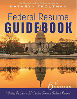 Amazoncom Federal Resume Guidebook Federal Resume Guidebook