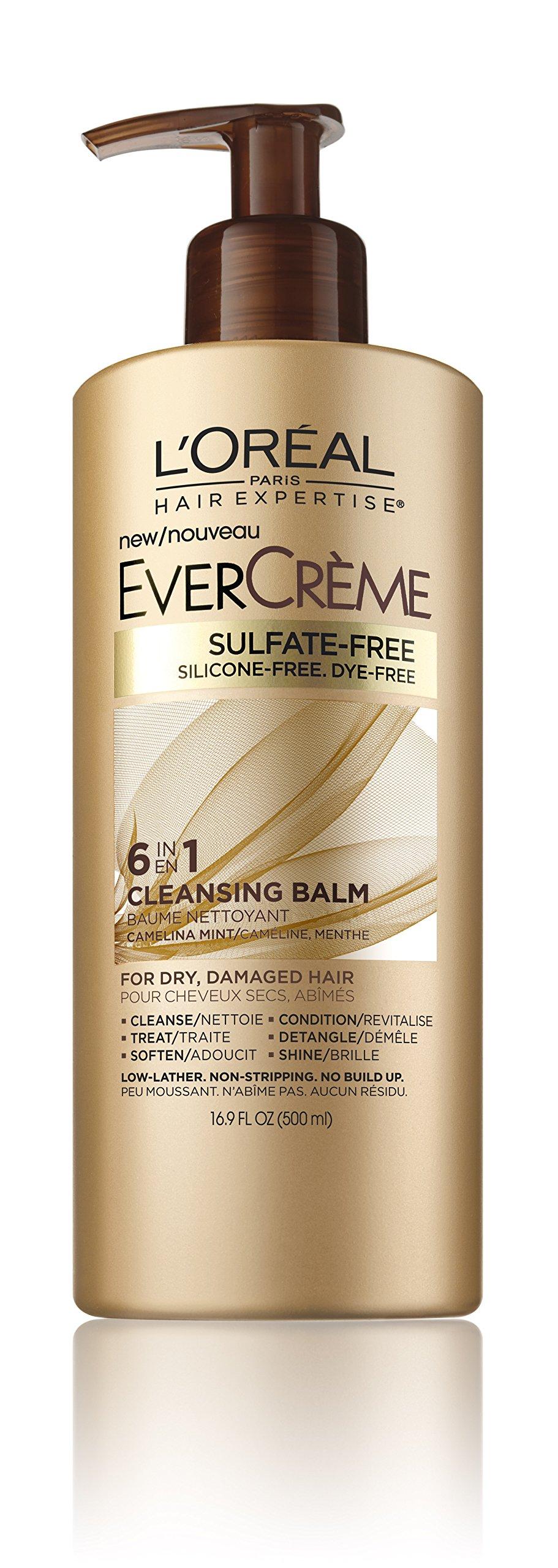 L'Oréal Paris EverCreme Cleansing Balm, 16.9 oz.