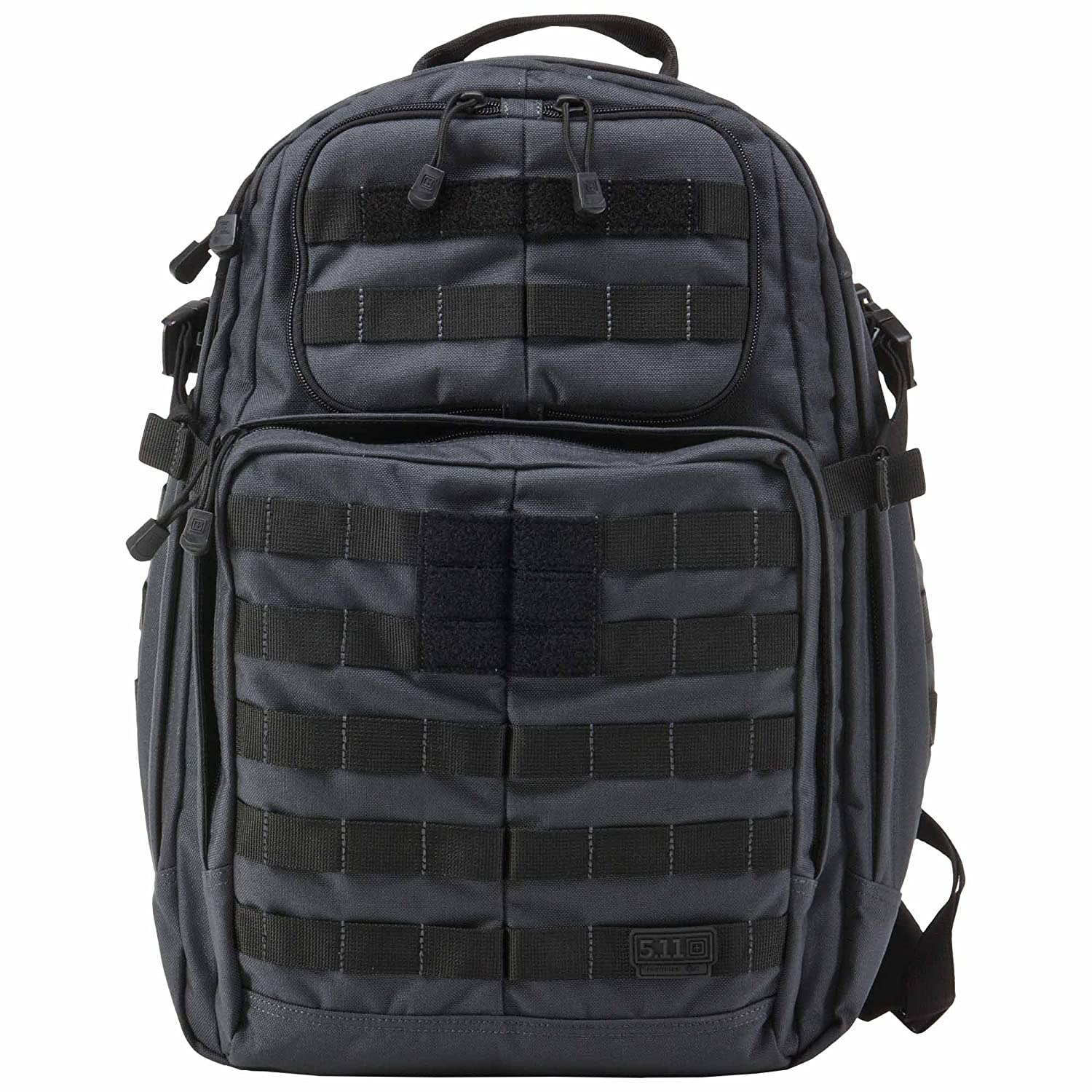 5.11 Tactical Series 1 Day Rush Backpack, Black, One Size 58601-019