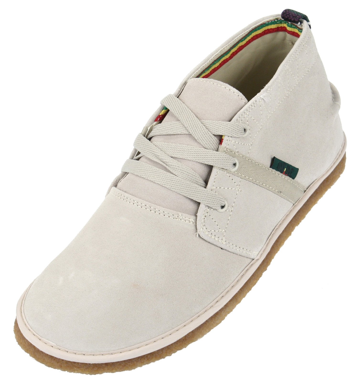 Bob Marley One Love Pipeline Casual Mens Lace up Shoes (11 US Mens, Sand Suede)