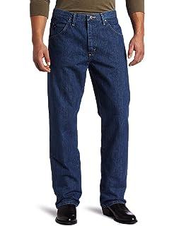 c9368858 Wrangler Men's Tall 20X No. 33 Relaxed Straight- Leg Jean at Amazon ...